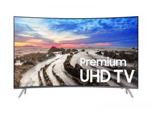 "Samsung UN55MU8500FXZC Curved 4K UHD TV - 55"" Class"