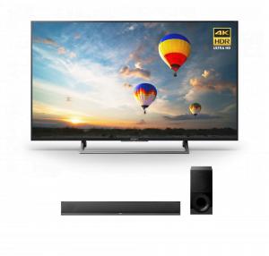 Sony XBR-55X800E 55″ LED 4K Ultra HD HDR 2160p Smart TV w/ HT-CT800 2.1ch Soundbar – Bundle