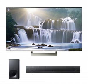"Sony XBR-75X940E 75"" Smart LED 4K Ultra HD TV w/ HT-NT5 2.1 Channel Soundbar - Bundle"