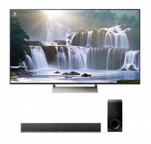 "Sony XBR-65X930E 65"" Smart LED 4K Ultra HD TV w/ HT-CT800 2.1ch Soundbar – Bundle"