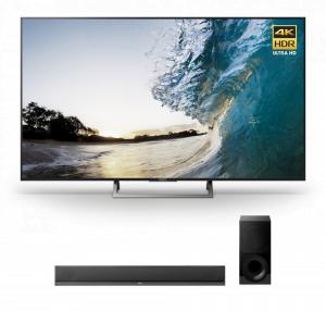 Sony XBR-75X850E 75″ LED 4K Ultra HD HDR 2160p Smart TV w/ HT-CT800 2.1ch Soundbar – Bundle