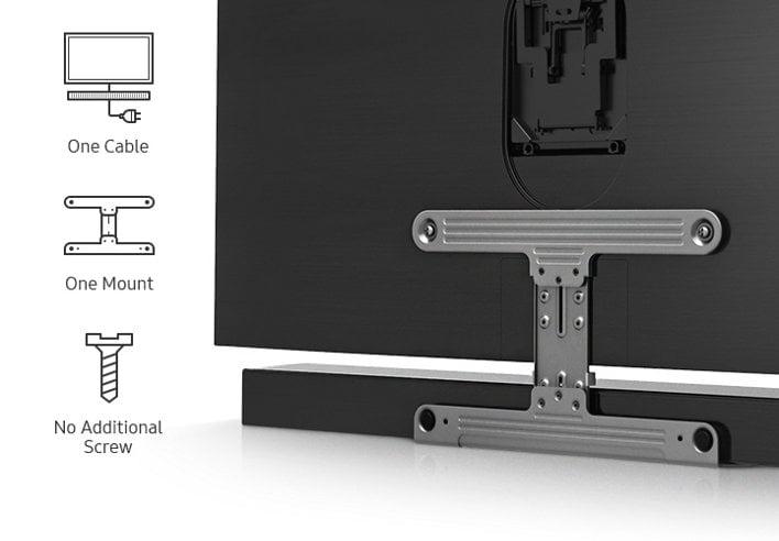 samsung hw ms6500 3 0 sound premium curved soundbar. Black Bedroom Furniture Sets. Home Design Ideas