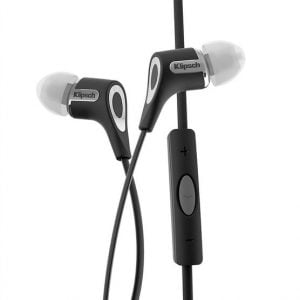 Klipsch R6iB In-ear Earphones with Mic and Apple Control - Black