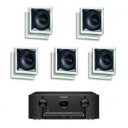 Marantz SR5011 7.2 B Stock AV Receiver w/ Paradigm CS-60SQ-SM v2 In-Wall Speakers x5 - Bundle