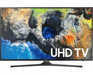 "Samsung UN40MU6300 40"" Smart 4K UHD HDR LED TV"
