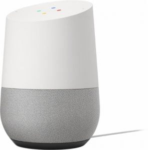 Google Home Voice Activated Speaker - White
