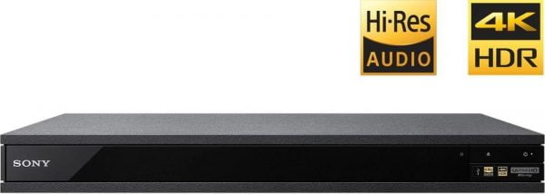 Sony UBP-X800 4K Ultra HD Hi-Res Audio Blu-Ray Player
