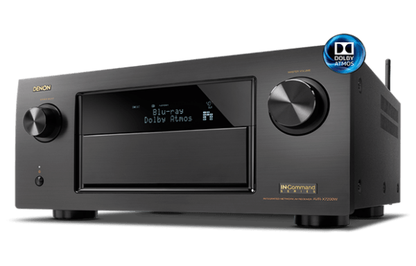 Denon AVR-X7200W 9.2Ch Networked A/V Receiver with Wi-Fi and Bluetooth