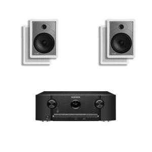 Marantz SR5011 7.2 B Stock AV Receiver w/ Polk Audio MC85 In-Wall Speakers x2 – Bundle