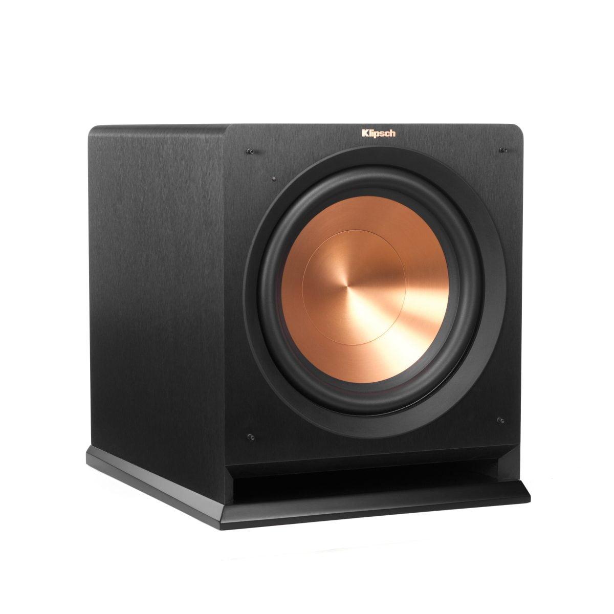 klipsch powered speakers. klipsch rp-112sw powered speakers h