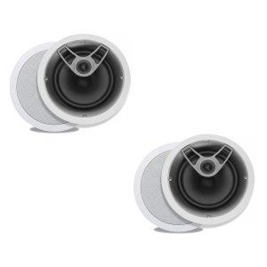 "Polk Audio MC80 High Performance 8 1/2"" Round In-Ceiling Speakers - Pair"