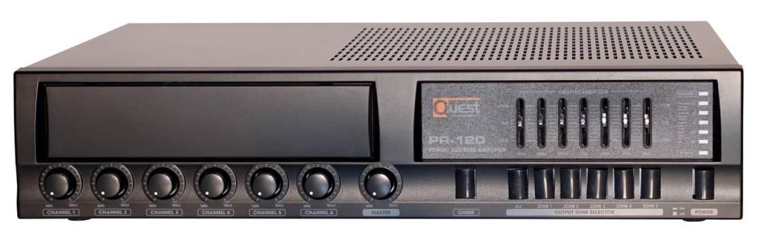 Quest XQ-PR120 120W 70v Amplifier