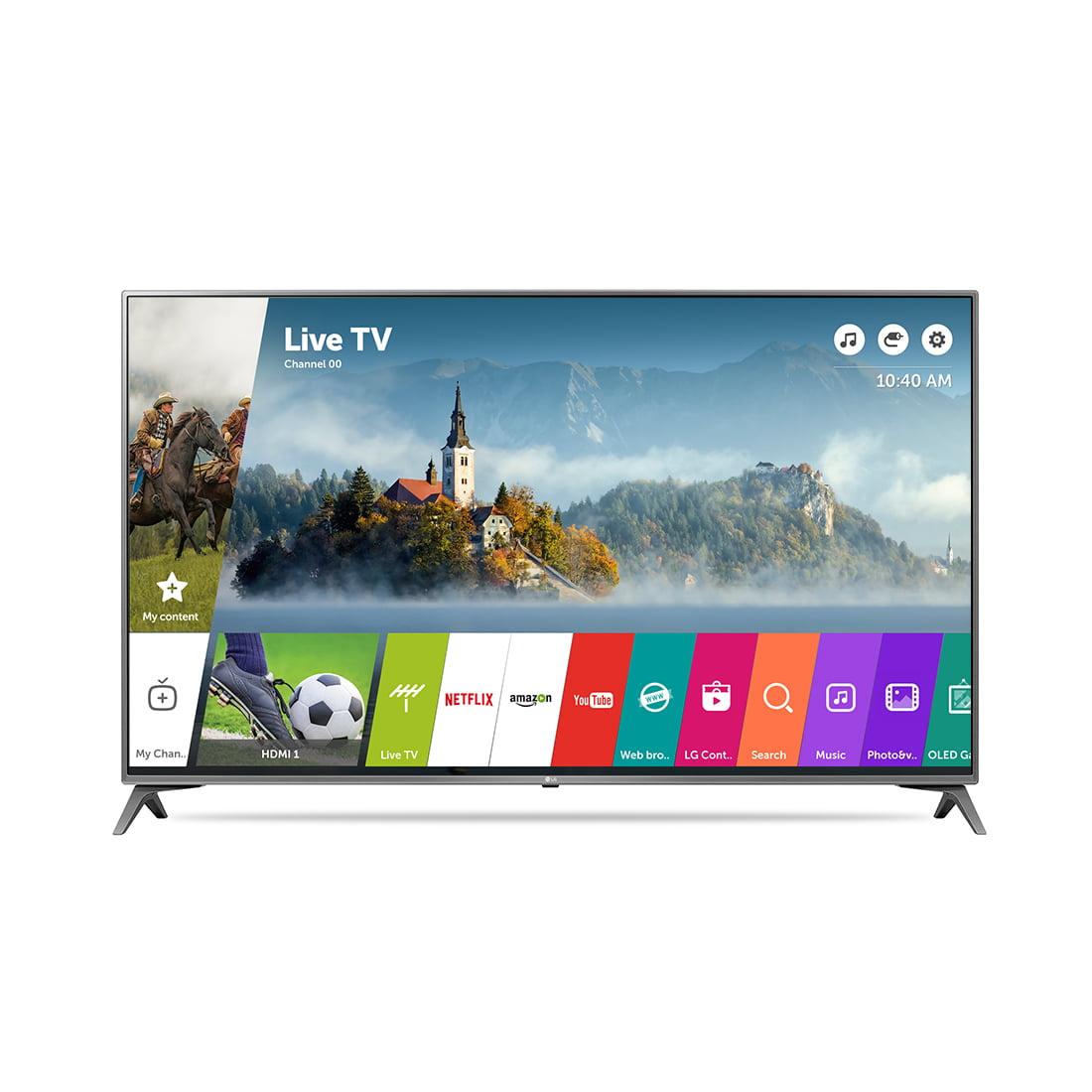 lg 55uj6540 55 4k uhd hdr smart led tv. Black Bedroom Furniture Sets. Home Design Ideas