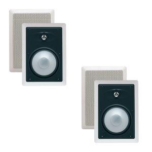 """Energy EAS-6W 2-Way 6.5"""" In-Wall """"Open Box"""" Loudspeakers - Pair"""