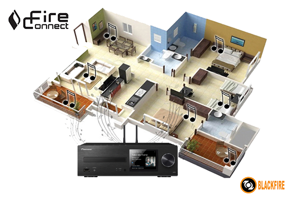 pioneer x hm76 network mini stereo system b stock. Black Bedroom Furniture Sets. Home Design Ideas