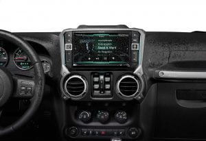 "Alpine I209-WRA- 9"" Carplay System For 2011 And Up Jeep Wrangl"