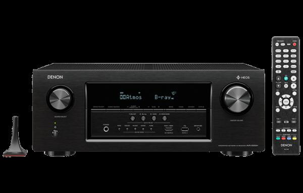 Denon AVR-S930H 7.2 Ch Full 4K Ultra HD Network AV Receiver with HEOS