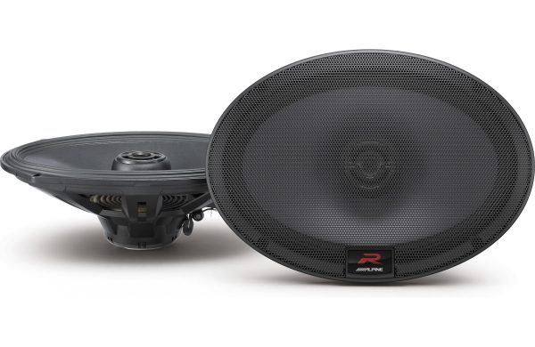 "Alpine R-S69 R-Series 6""x9"" Coaxial 2-Way Car Speakers"