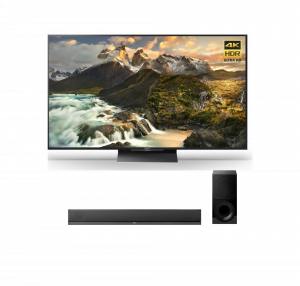 Sony XBR-100Z9D 100″ 4K Ultra HD Smart LED TV w/ HT-CT800 2.1ch Soundbar – Bundle