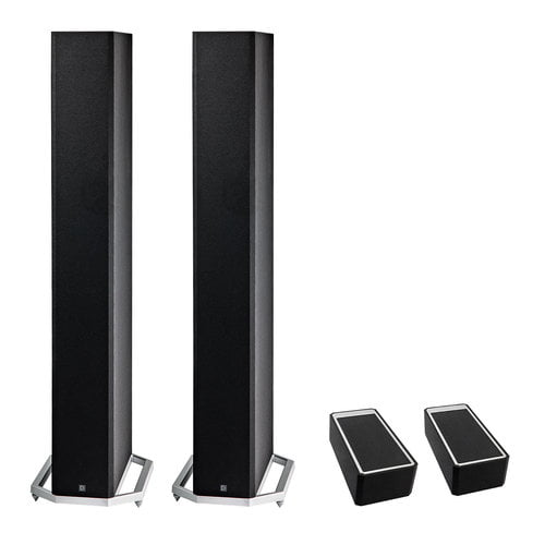 definitive technology tower speakers. definitive technology bp-9060 high-performance bipolar tower speaker x2 w/ a90 high-performance height module \u2013 pair bundle speakers