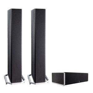 Definitive Technology BP-9040 Bipolar Tower Speaker x2 w/ CS9040 High-Performance Center Channel Speaker - Bundle
