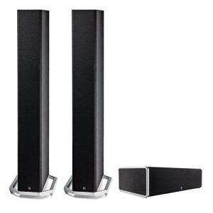 Definitive Technology BP-9060 High-performance Bipolar Tower Speaker x2 w/ CS9060 High-Performance Center Channel Speaker - Bundle