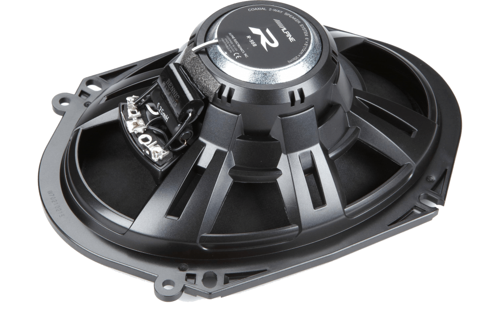 "Alpine R-S68 R-Series 6""x8"" Coaxial 2-Way Car Speakers"