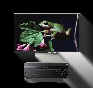 "Sony XBR-55X930E 55"" Smart LED 4K Ultra HD TV w/ STR-ZA810ES 7.2 ch Hi-RES Wi-Fi Network AV Receiver - Bundle"