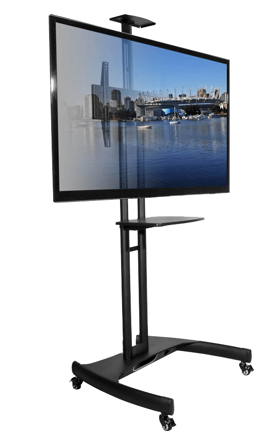 Kanto MTM65PL Mobile TV Mount With Adjustable Shelf for 37 ...