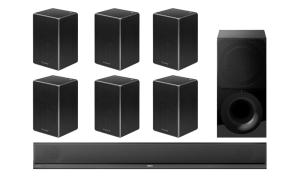 Sony HT-CT800 2.1 Soundbar and Wireless Subwoofer w/ SRS-ZR5 Wireless Speakers x6 – Bundle