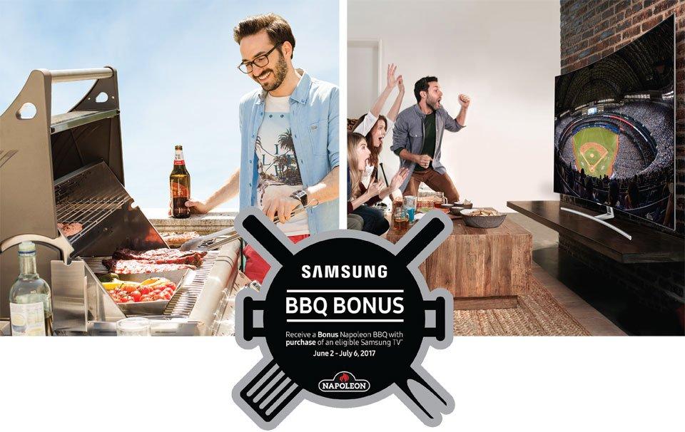 Samsung BBQ Backyard Bonus