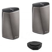 Denon HEOS 1 + 1 + GO Wireless Speakers and Battery Pack Bundle Black
