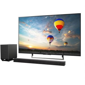 Sony XBR-55X800E 55″ LED 4K Ultra HD HDR 2160p Smart TV w/ Sony HT-ST500 Dolby Atmos Wi-Fi/Bluetooth Soundbar - Bundle