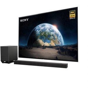 Sony XBR-65A1E Bravia OLED 4K HDR Smart TV w/ Sony HT-ST5000 Dolby Atmos Wireless/Bluetooth Soundbar - Bundle