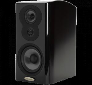 Polk Audio LSiM703 Bookshelf Speaker - Midnight Mahogany - Each