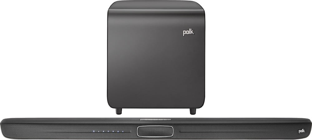 What Does Sd Mean >> Polk Audio MagniFi Soundbar with Wireless Voice Optimization