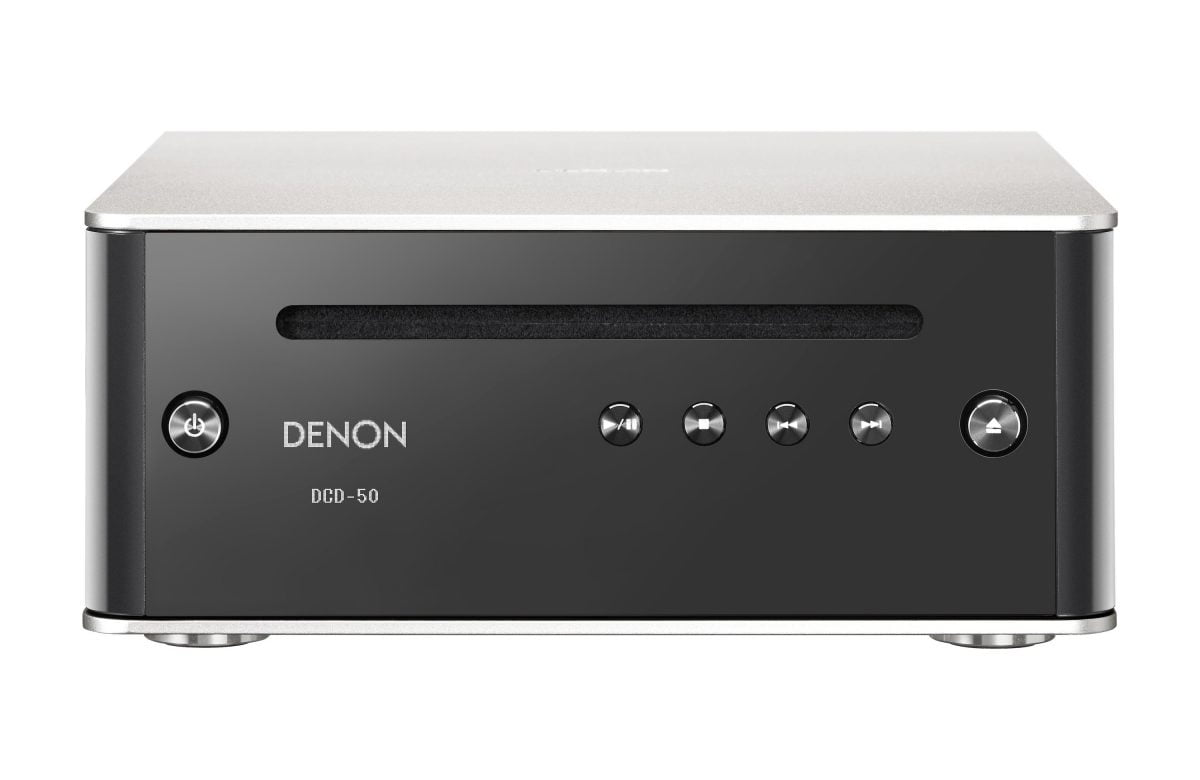 denon dcd 50sp design series cd player premium silver. Black Bedroom Furniture Sets. Home Design Ideas