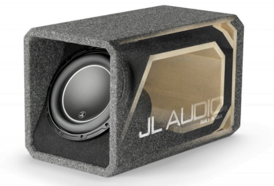 JL Audio HO112-W6v3 Ported H.O. Wedge Enclosure With One 12″ Subwoofer