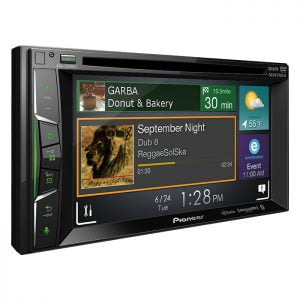 "Pioneer AVH-1330NEX Multimedia DVD Receiver with 6.2"" WVGA Display, Apple CarPlay and Built-in Bluetooth"