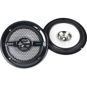 "Sony XS-MP1611B 6-1/2"" Dual-Cone Marine Speakers - Pair"