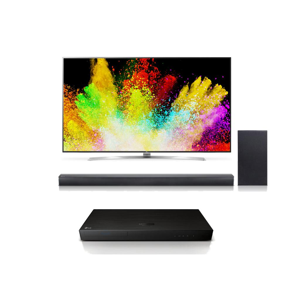 lg 55sj8000 55 super uhd 4k hdr smart led tv w up970 4k. Black Bedroom Furniture Sets. Home Design Ideas