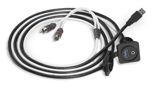 JL Audio XMD-USB 3.5MM-PNL