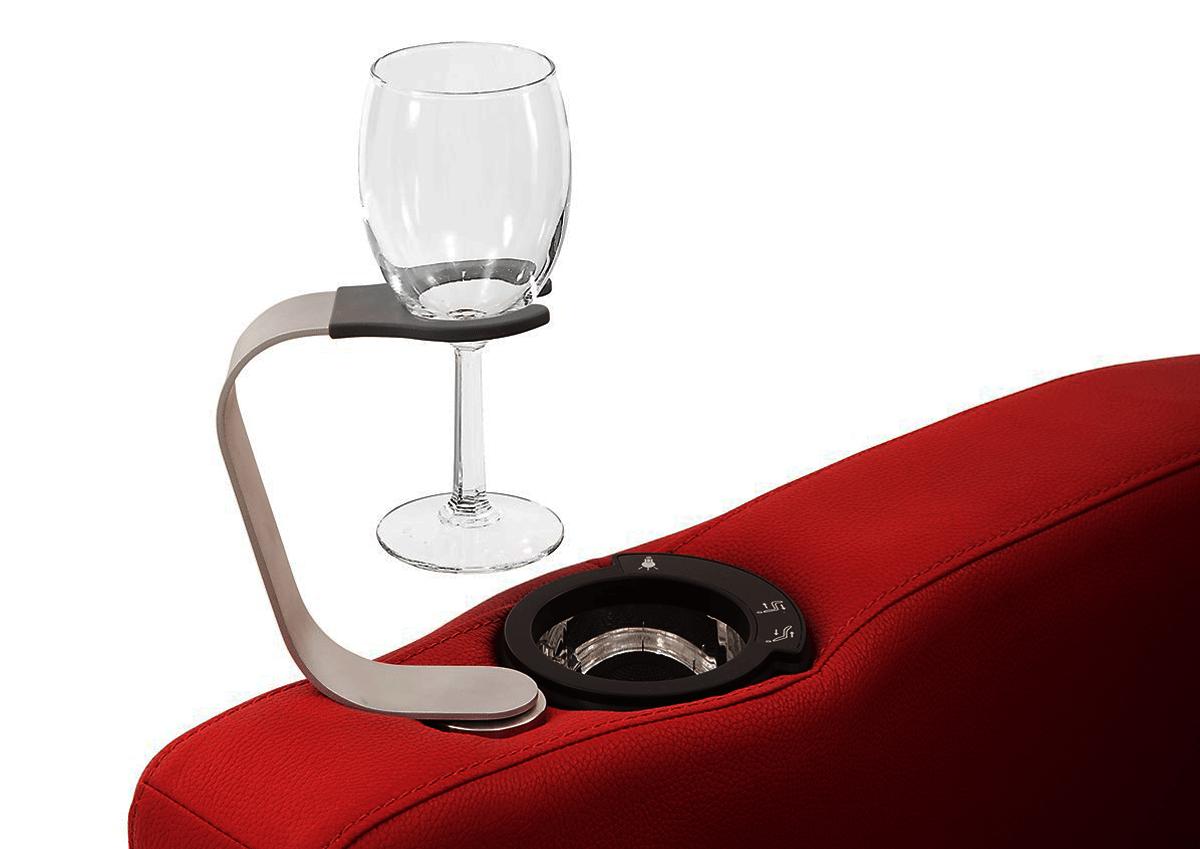 Palliser Wine Holder Accessory For All Palliser Chairs