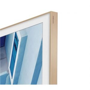 "Samsung VG-SCFM65LW/ZA 65"" The Frame Customizable Bezel - Beige Wood"