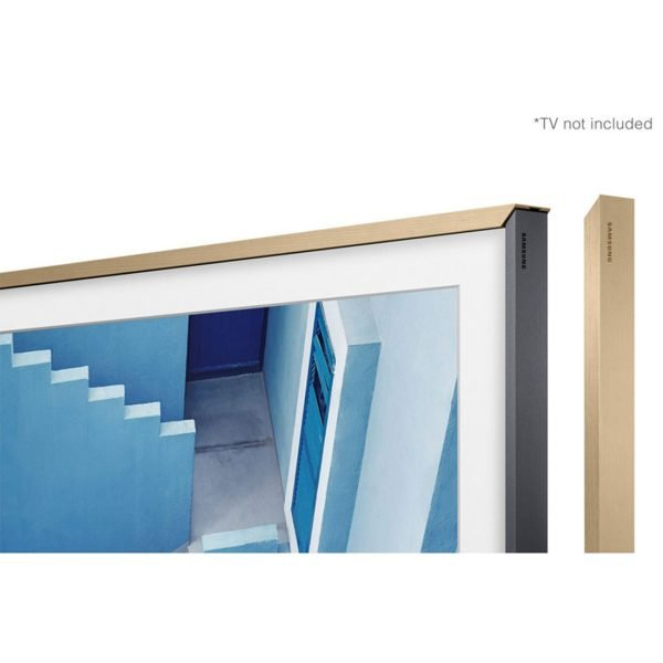 "Samsung VG-SCFM65LW/ZA 65"" The Frame Customizable Bezel - Beige Wood"