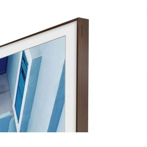 "Samsung VG-SCFM43DW/ZA 43"" The Frame Customizable Bezel - Walnut"