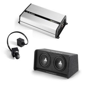 JL Audio CP210-W0v3 Sub w JX500-1D