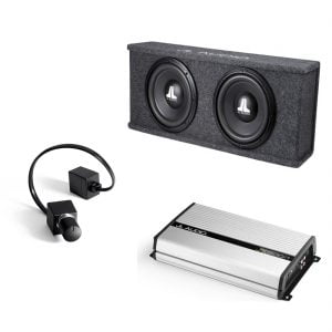 JL Audio CS210-WXv2 w JX500