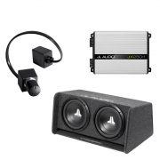 JL Audio CP212-W0v3 Sub w/ JX250/1D Amp and RBC-1 Bass Remote - #93283 - #99402 - #98015 - Bundle