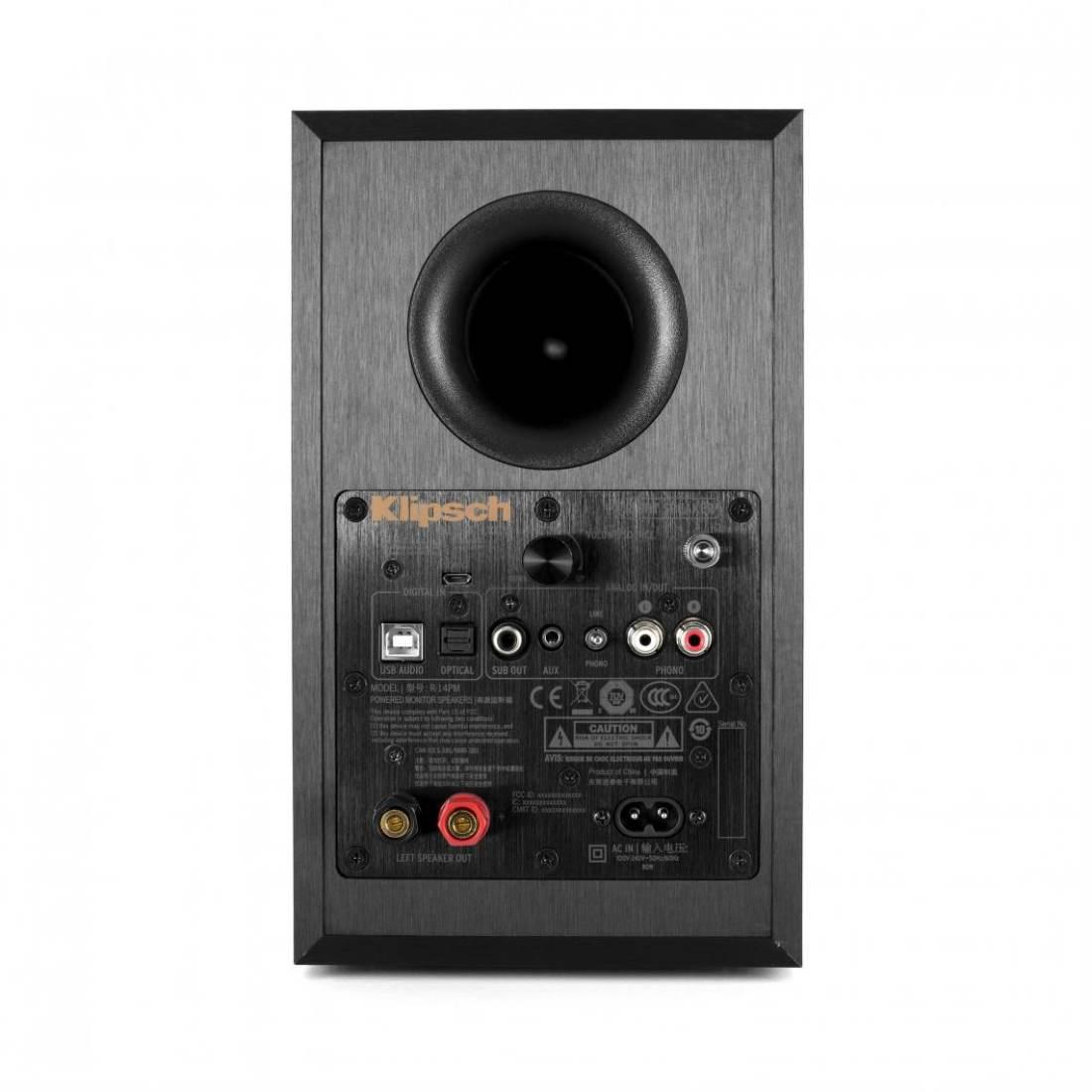 klipsch powered speakers. klipsch r-14pm powered speakers